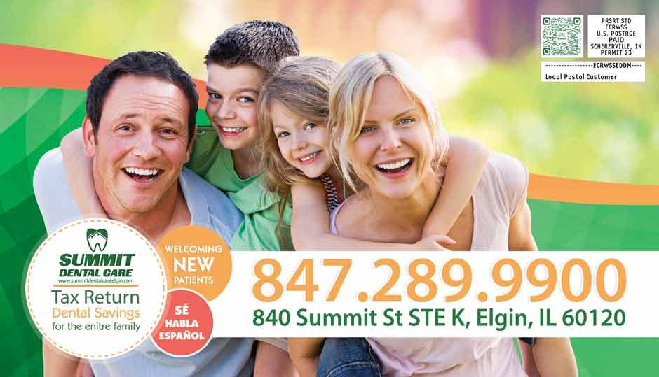 Summit Dental - dental dental offers side 1 spring 2021